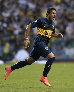 Palacios, Boca Juniors (Foto: AFP)