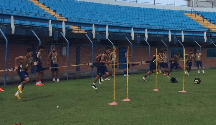 Treino do Avaí (Foto: Jamira Furlani/Avaí FC)
