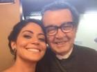 Carol Castro e Renato Góes fazem posts em apoio a Umberto Magnani