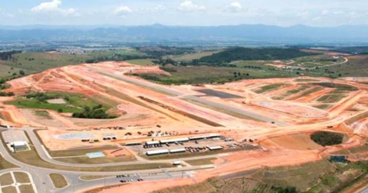 Obra atrasa e aeroporto privado em Caçapava deve ser aberto até ... - Globo.com