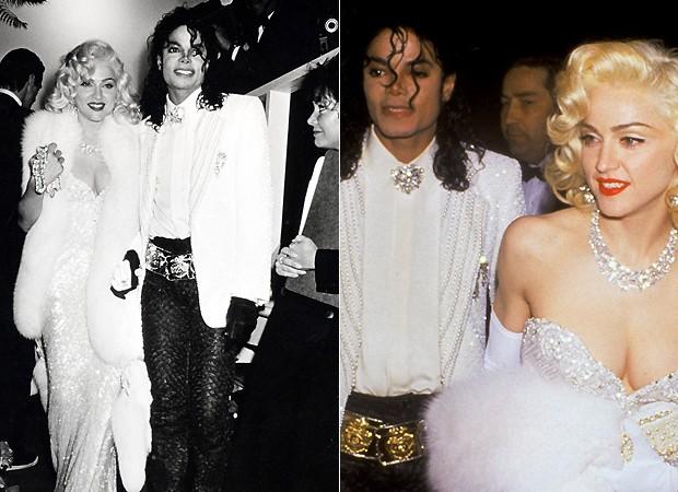 Madonna e Michael Jackson (Foto: Reprodução)