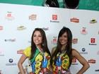 Ex-BBBs Talula e Maria Melilo curtem desfile do Galo da Madrugada