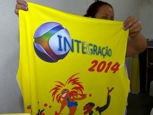 Abadás de Carnaval TV Integração Juiz de Fora (Foto: Reprodução/TV Integração)