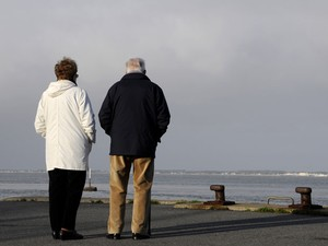 Casal de idosos (Foto: Alain Le Bot / Photononstop/ AFP)