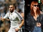 Rihanna estaria saindo com jogador de futebol, diz site