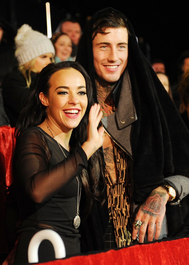 Stephanie Davis e o ex, Jeremy McConnell (Foto: Getty Images)