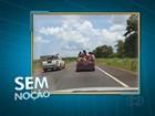 Motorista transporta nove pessoas em carroceria de veículo no Tocantins