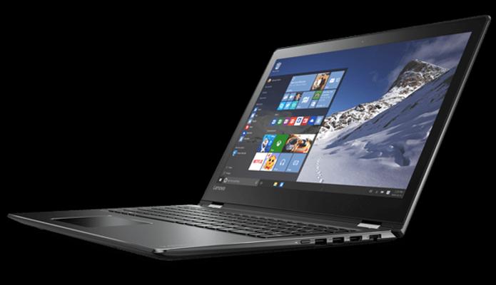 Notebook Lenovo Yoga 510 tem tela que gira 180° (Foto: Divulgação/Lenovo)