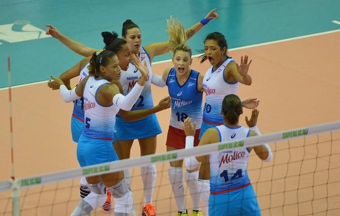 Rio do Sul x Osasco Superliga feminina vôlei (Foto: João Pires/Fotojump)