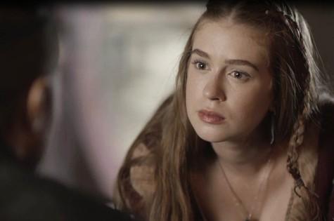 Marina Ruy Barbosa é Amália em 'Deus salve o rei' (Foto: Reprodução)
