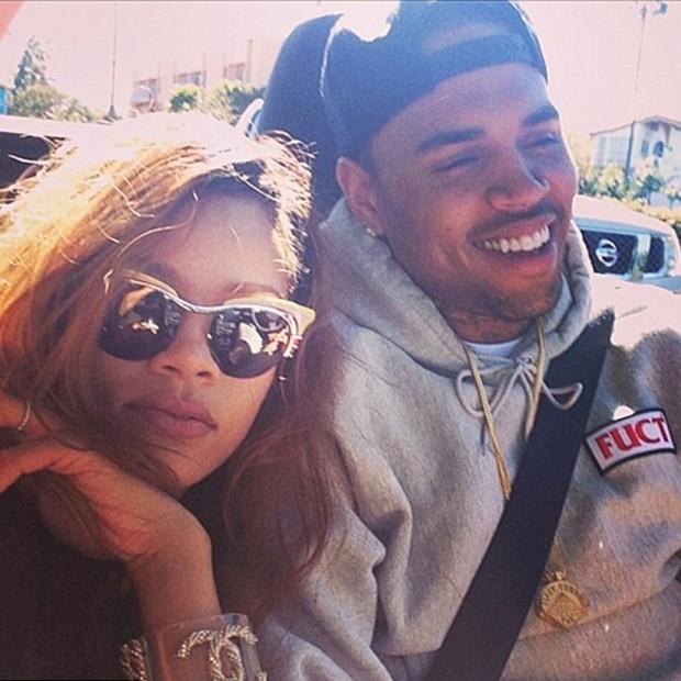 Rihanna e Chris Brown (Foto: Reprodução/Instagram)