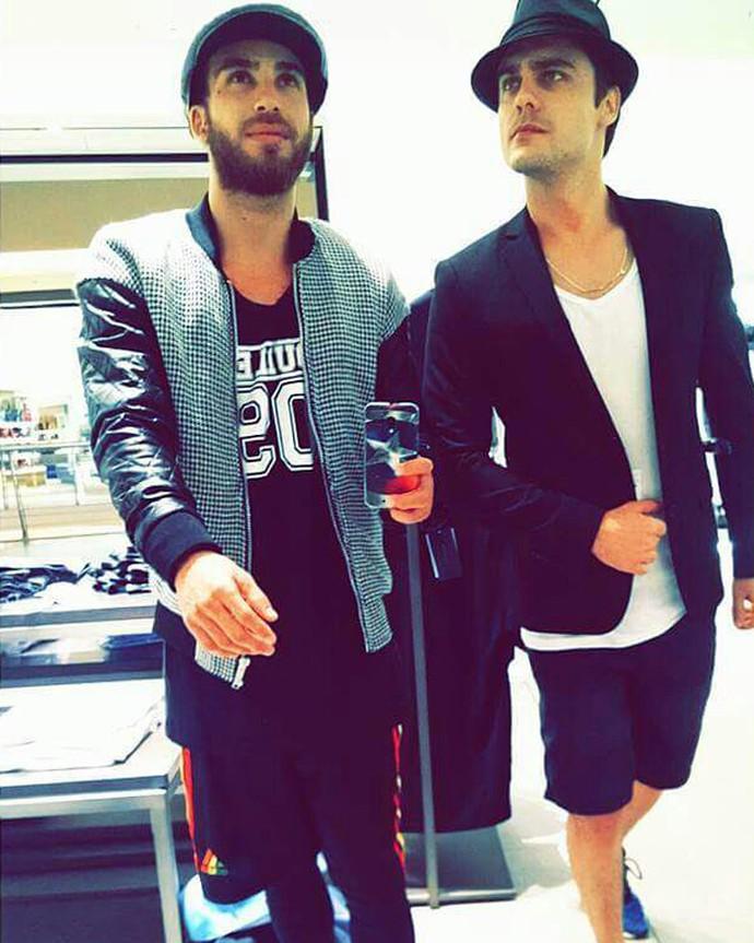 Mauro Cominato e Guilherme Leicam (Foto: Arquivo pessoal)