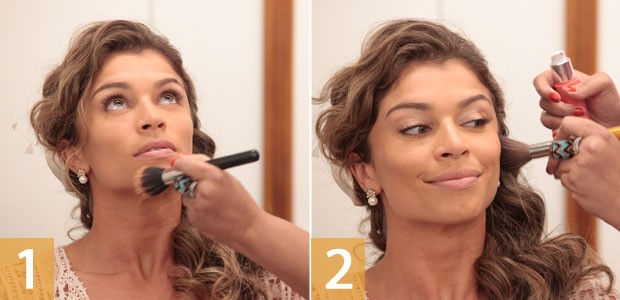 Make Ester 1 (Foto: Flor do Caribe / TV Globo)