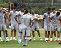 Em treino, Marcão barra Gum e prepara mudanças em time titular