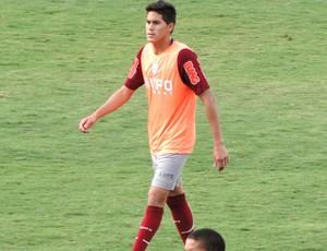 Elsinho, lateral-direito do América-MG (Foto: Fernando Martins)