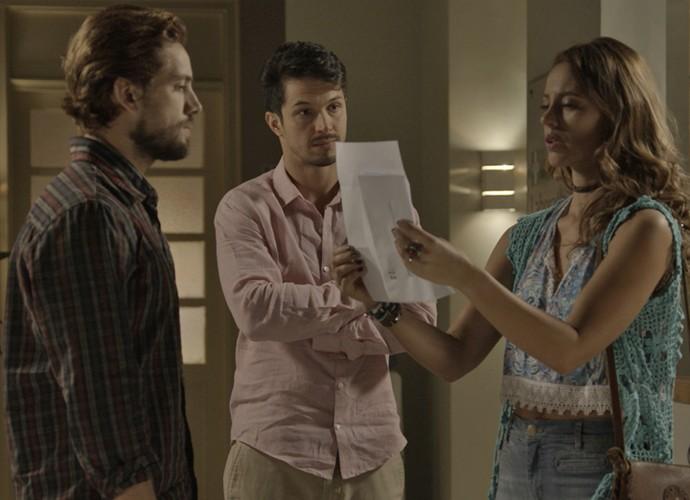A surpresa é geral  (Foto: TV Globo)