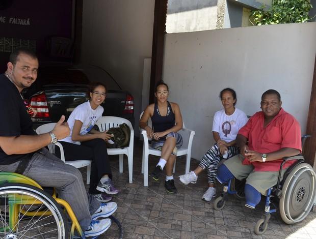Paratletas do AP são convocados para seleção brasileira de handebol (Foto: Cassio Albuquerque/GE-AP)