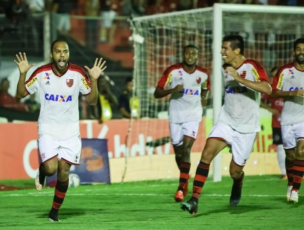 Alexsandro gol Flamengo x Brasil de Pelotas (Foto: Fabio Gomes / Ag. Estado)