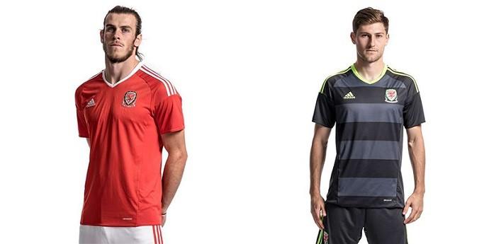 Camisas Eurocopa gales