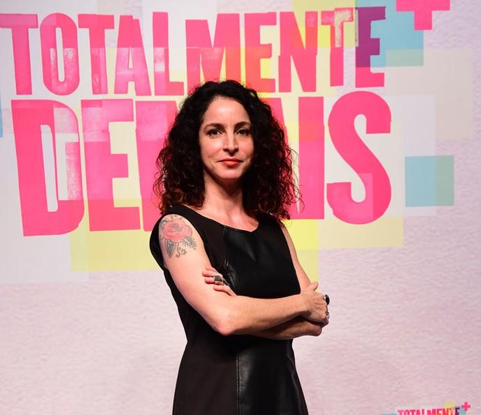 Rosane posa durante a festa de lançamento da novela (Foto: Estevam Avellar/Globo)