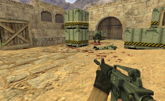 Counter Strike Home (Foto: Reprodução / TechTudo)