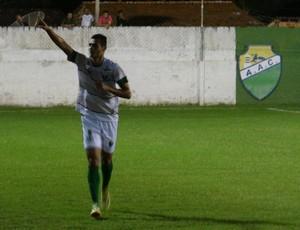 Tiago Lima, meia do Coruripe (Foto: Leonardo Freire/GloboEsporte.com)