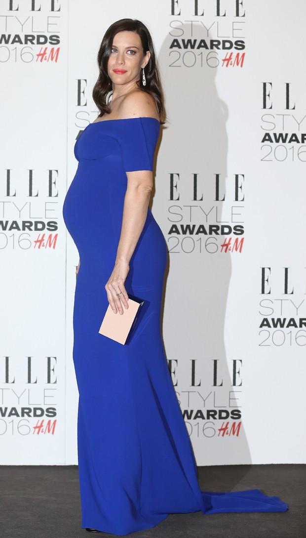 Liv Tyler em premiação em Londres, na Inglaterra (Foto: Justin Tallis/ AFP)