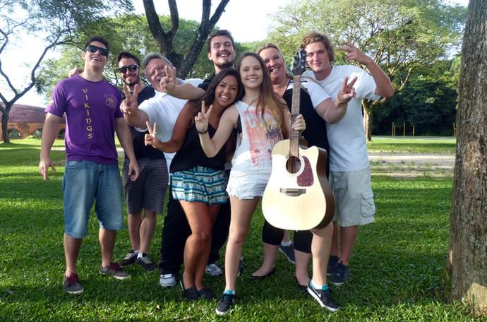 Carol Passos The Voice Kids (Foto: Divulgação/RPC)