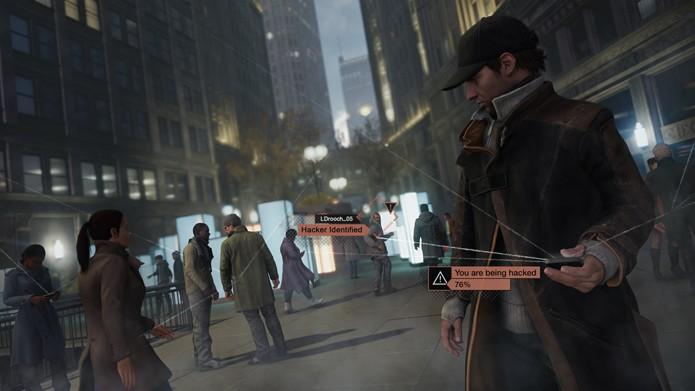 Em Watch Dogs, será possível invadir o mundo de outros jogadores e espioná-los (Foto: Divulgação/Ubisoft)