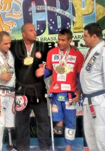 Alex Taqveira é campeão mundial de paratletismo (Foto: Divulgação)
