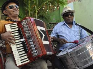 Grupo Tradição do Forró cantará músicas autorais e de nomes consagrados  como Luiz Gonzaga. (Foto: Arquivo Pessoal/ Ericson Aires.)