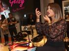 Geisy Arruda vai com look 'Kim Kardashian' a evento em São Paulo