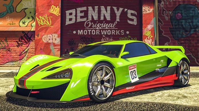 GTA 5 ganha novo super carro Progen Itali GTB Custom em seu modo multiplayer GTA Online (Foto: Divulgação/Rockstar)
