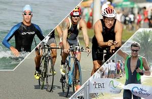 Montagem Rio Triathlon Eu Atleta  (Foto: Editoria de Arte)