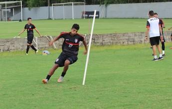 Ansioso pela estreia, Caíque ainda vê Joinville com necessidade de ajustes