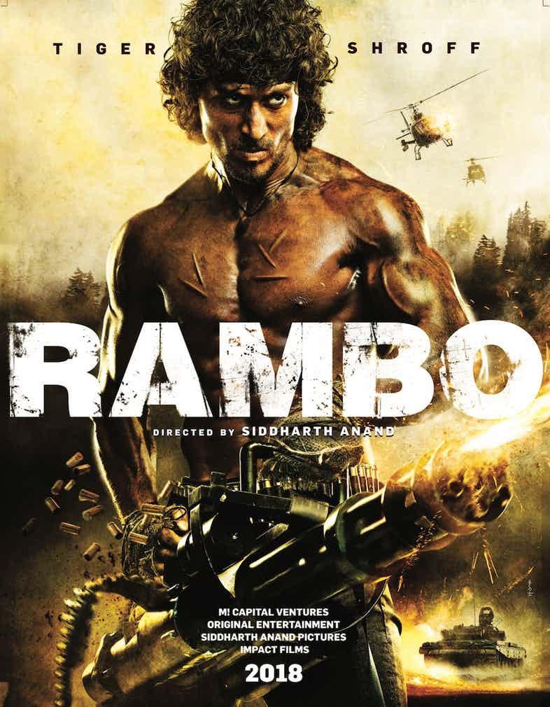 Cartaz do remake de Rambo (Foto: Divulgação)