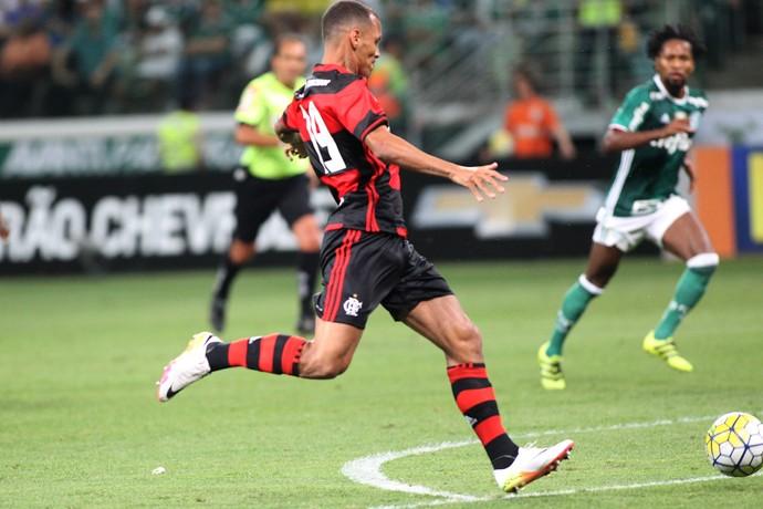 Alan Patrick gol Flamengo x Palmeiras (Foto: Gilvan de Souza / Flamengo)