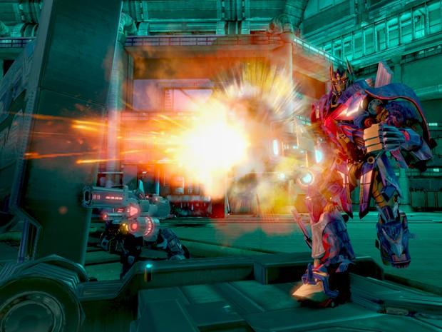 Cena de 'Transformers: Rise of the Dark Spark', que terá versões para PlayStation 4 e Xbox One (Foto: Divulgação/Activision)