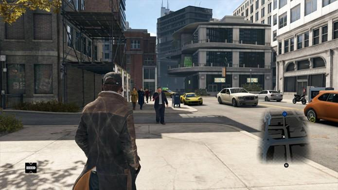 Watch Dogs trouxe belos gráficos para o PlayStation 4 e Xbox One, porém aquém do que foi inicialmente prometido (Foto: gamersyndrome.com)