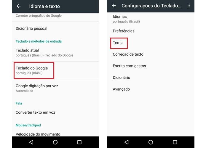 Teclado Google7.4