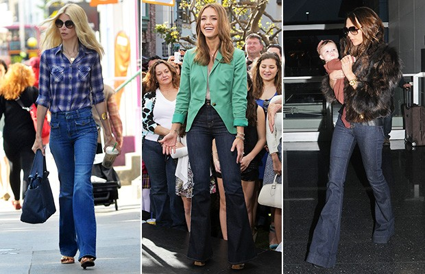 Flare Jeans (Foto: Agência Getty Images)