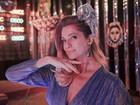 Letícia Spiller fala de Carnaval inesquecível: 'Alice no País das Maravilhas'