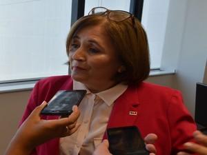 Maria Aparecida Pereira  (Foto: Tássio Andrade/G1)