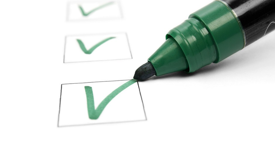 certo_check_inscrição_marca_sinal (Foto: Shutterstock)