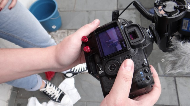 Making of - Câmera Educação (Foto: Fernanda Maciel)