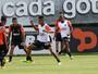Luan e Hyuri não treinam, e Aguirre sinaliza manutenção de Uilson no gol