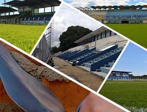 Carrossel obras nos estádios (Foto: GloboEsporte.com)