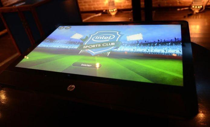 Empresa californiana ajudou brasileiros a fazer futebol de botão digital para o evento Intel Sports Club (Foto: Divulgação)