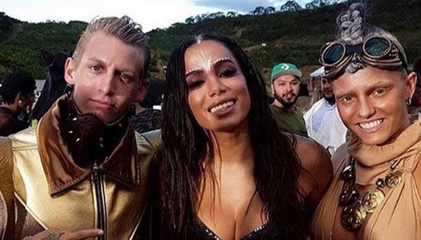 Anitta grava novo clipe (Foto: Reprodução )