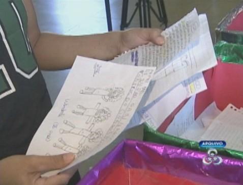 Adote um pedido em uma das agências dos Correios (Foto: Amazônia TV)